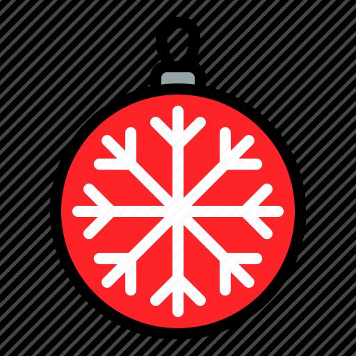 bauble, christmas ball, decoration, xmas icon