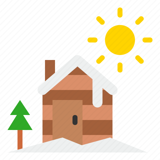 Christmas, cottage, house, landscape, winter icon - Download on Iconfinder