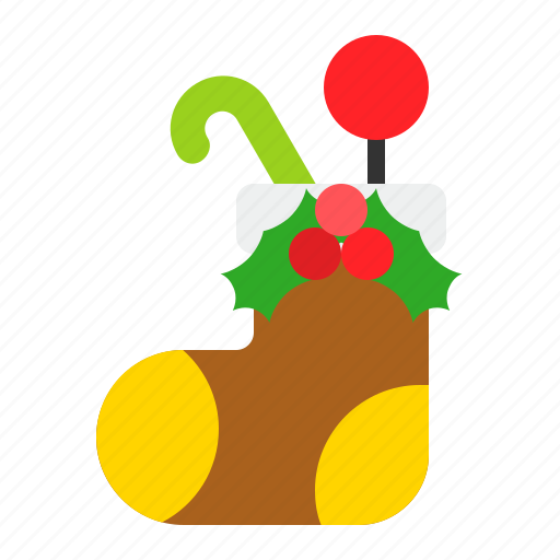Christmas, decoration, present, sock icon - Download on Iconfinder