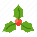 christmas, mistletoe, ornament, xmas