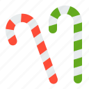 candy cane, christmas, dessert, sweets, xmas icon