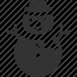 christmas, frozen, snow, snowman, xmas icon