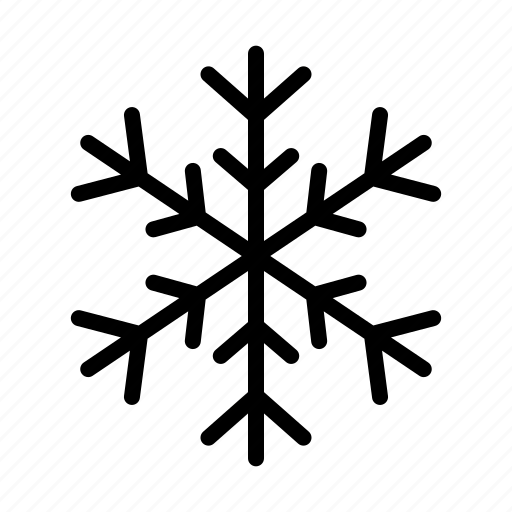christmas, cold, crystal, snow, snowflake, weather, winter icon