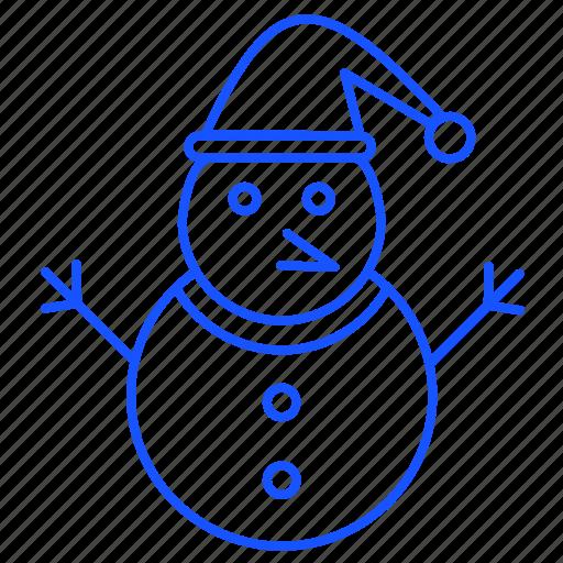 Christmas, santa, snow, snowman, winter, xmas icon - Download on Iconfinder