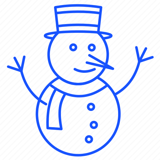 Christmas, snow, snowman, winter, xmas icon - Download on Iconfinder