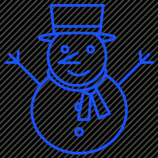 christmas, santa, snow, snowman, winter, xmas icon