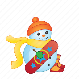 christmas, holiday, snowman, winter, xmas icon