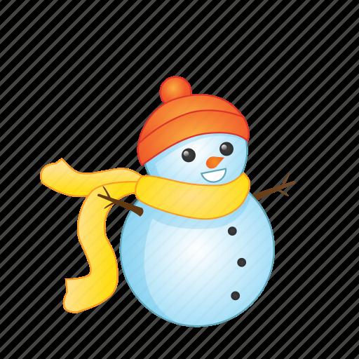 christmas, holiday, snowman, winter, xmas icon