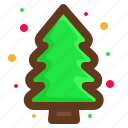 green, tree, christmas, santa