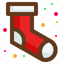 christmas, gift, santa, shock icon