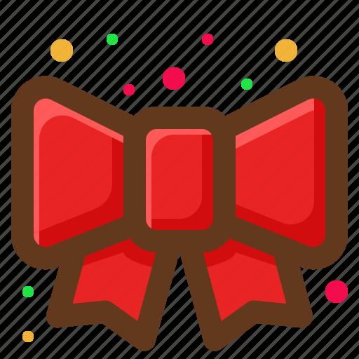 Christmas, decoration, ribbon, santa icon - Download on Iconfinder