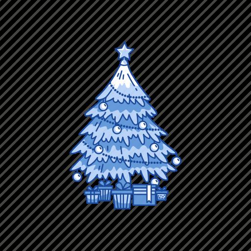 christmas tree, decoration, pine tree, tree icon