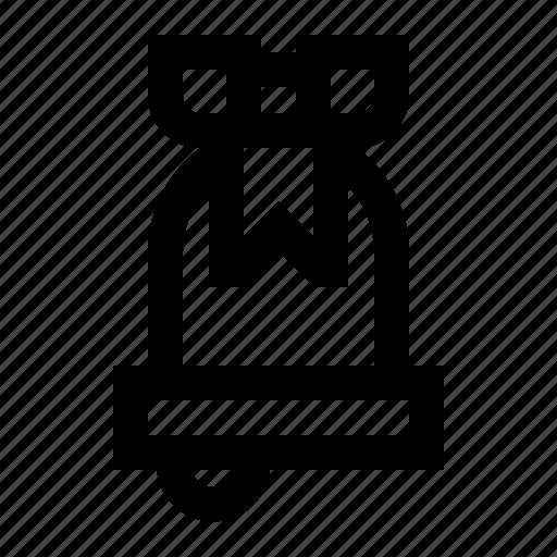 bell, christmas, notification, xmas icon