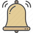 bell, christmas, decoration, ring, xmas icon