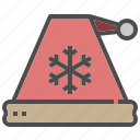 accessories, christmas, hat, santa, winter, xmas icon