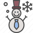 christmas, decoration, snowman, winter, xmas icon