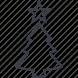 christmas, holiday, tree, xmas icon