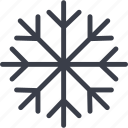 christmas, holiday, ice, snow, snowflake, winter, xmas icon