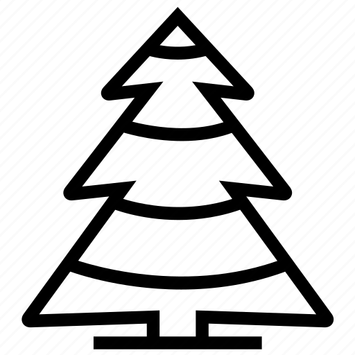 christmas, fir, holiday, nature, tree, winter icon