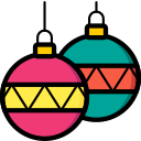 baubles, christmas, xmas icon