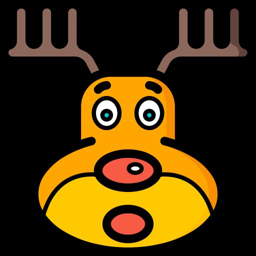 christmas, reindeer, xmas icon