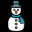 snowman, christmas, xmas