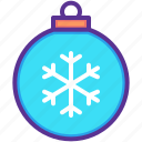 ball, bauble, celebration, christmas, decoration, new year icon