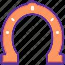 fortune, horseshoe, luck icon
