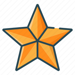 christmas, decoration, gold, star, winter icon