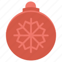 ball, celebration, christmas, decoration, holiday, new year icon
