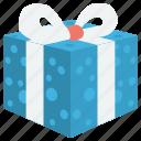 christmas, gift, gift icon icon