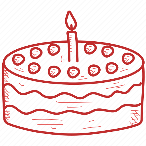 birthday, cake, christmas, cooking, food, sweet icon