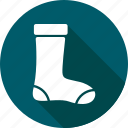 christmas, holiday, socks icon