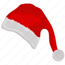 hat, santa hat, santa, christmas icon