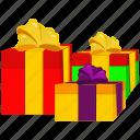 gift, present, set, wedding