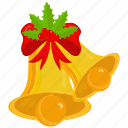bell, christmas, xmas icon