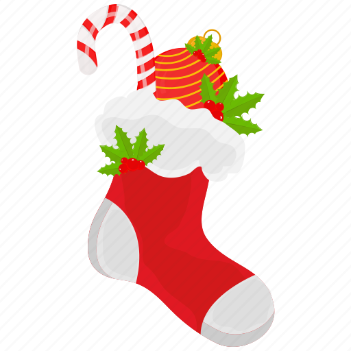 ball, candy, christmas, socks, winter, xmas icon