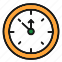 christmas, clock, countdown, time icon