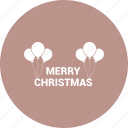 celebfratin, christmas, decoration, greeting icon