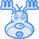 christmas, reindeer, xmas icon