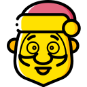 christmas, father christmas, santa, xmas icon