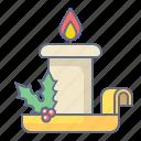 candle, celebration, christmas, holiday, xmas