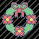 celebration, christmas, crown, decoration, ornament, xmas icon