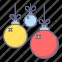 celebration, christmas, decoration, ornament, sphere, xmas icon