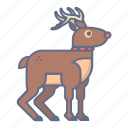 celebration, christmas, deer, holiday, rudolph, santa, xmas