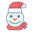 celebration, christmas, cold, snow, snowman, winter, xmas