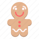christmas, cookie, decoration, gingerbread, holiday, man, xmas