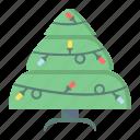 bulb, christmas, decoration, holiday, lights, tree, xmas icon