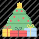celebration, christmas, decoration, holiday, present, tree, xmas