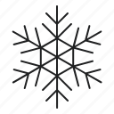 christmas, decoration, snow, snowflake, winter, xmas icon